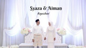 SyazDani Wedding 2018