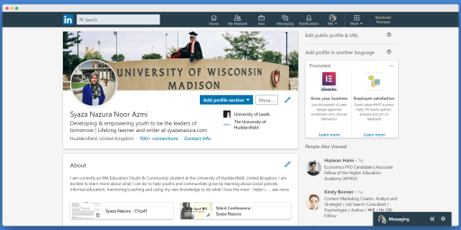 Utilize LinkedIn for your jobsearch and career