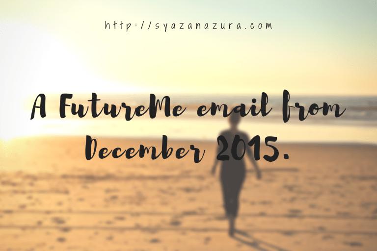 FutureMe email