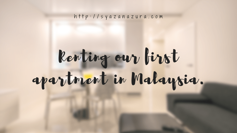 Renting our first apartment malaysia
