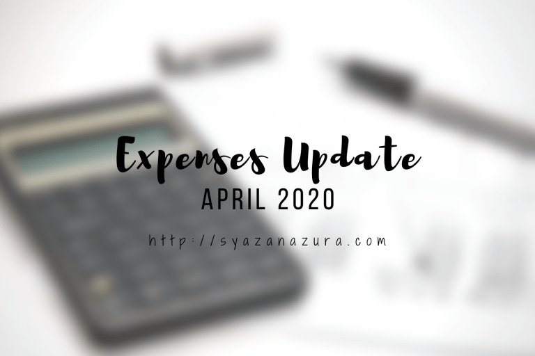 April 2020 expenses