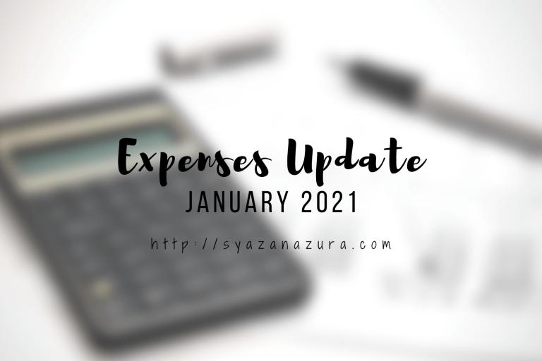 January 2021 expenses