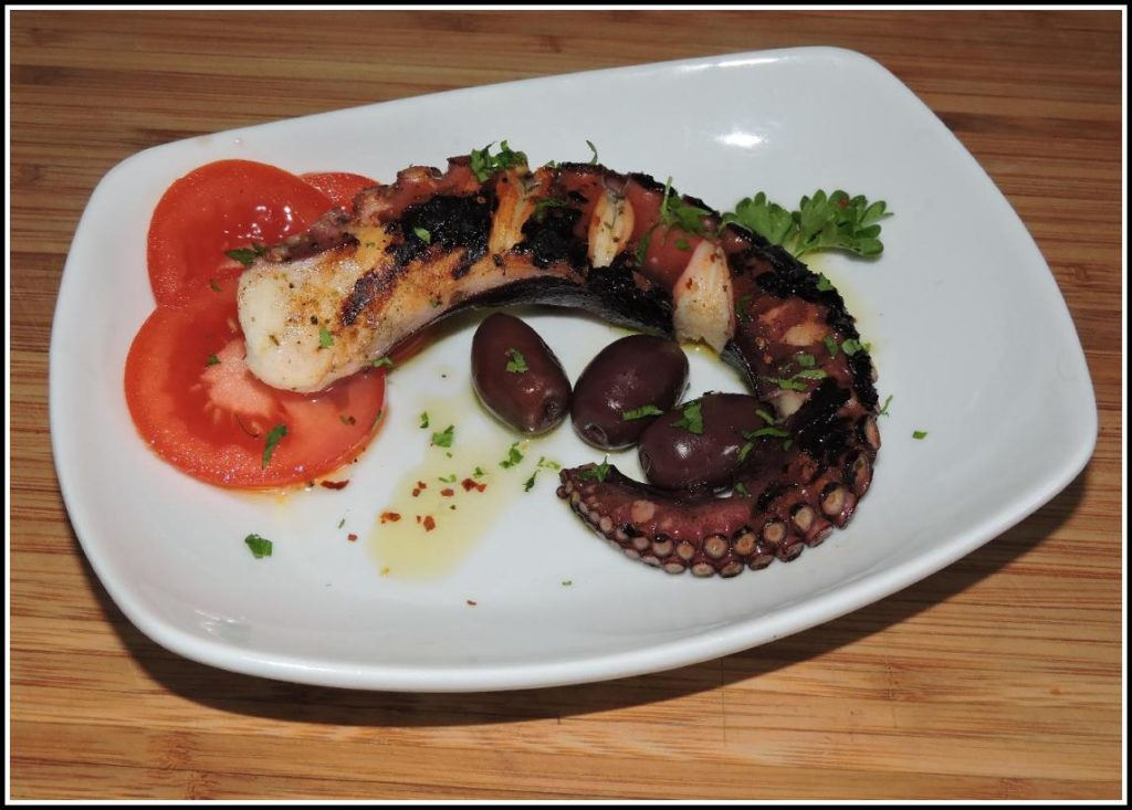 Grilled Octopus Greek Style
