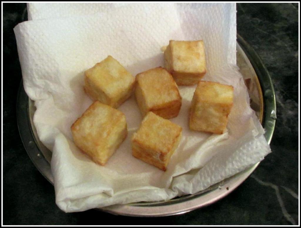 The Deep-fried Tofu