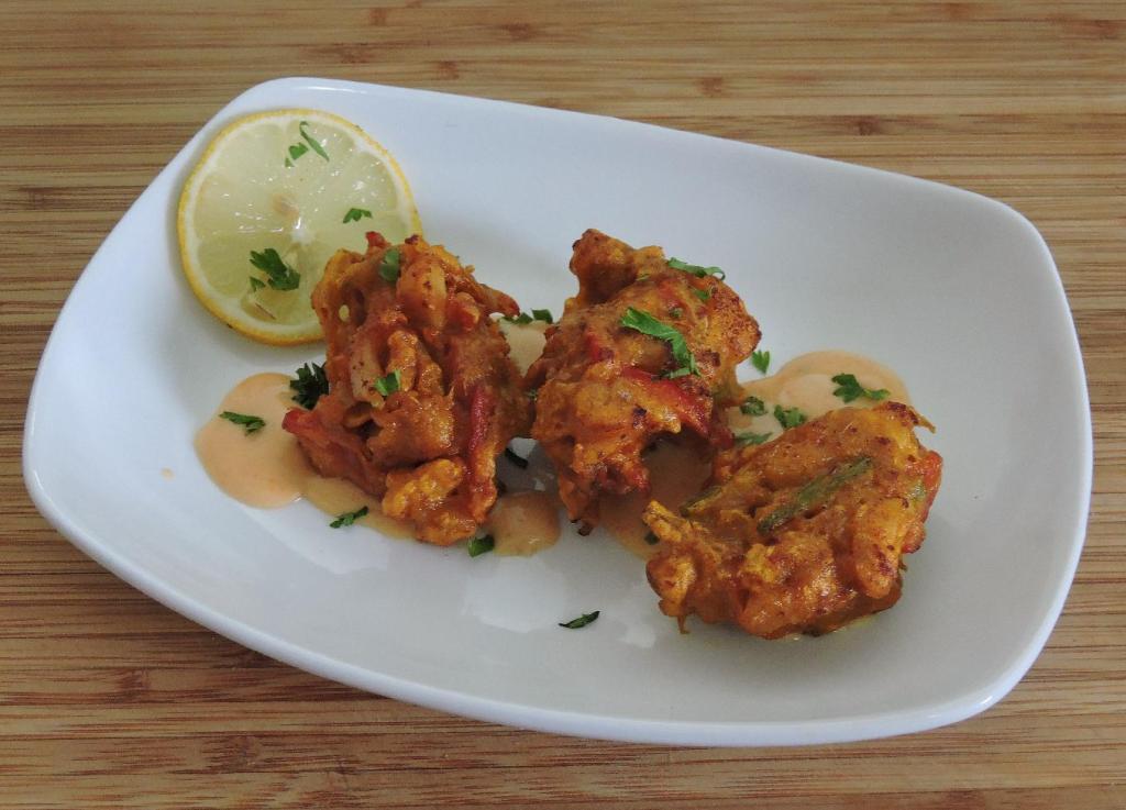Scallop Bhaji Appetizer