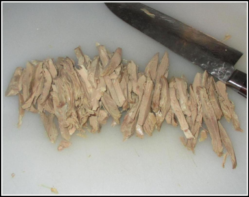 The Duck Meat in Shreds