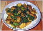 Bengali Fenugreek Potatoes