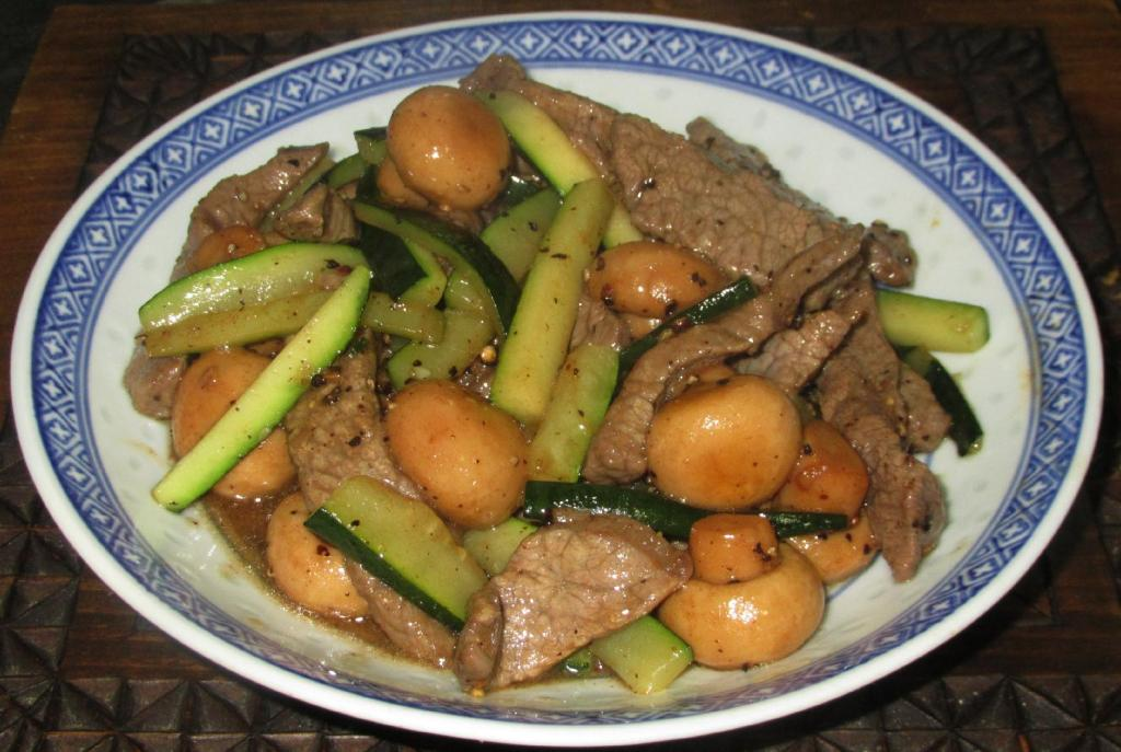 Black Pepper Beef Canadian-Style