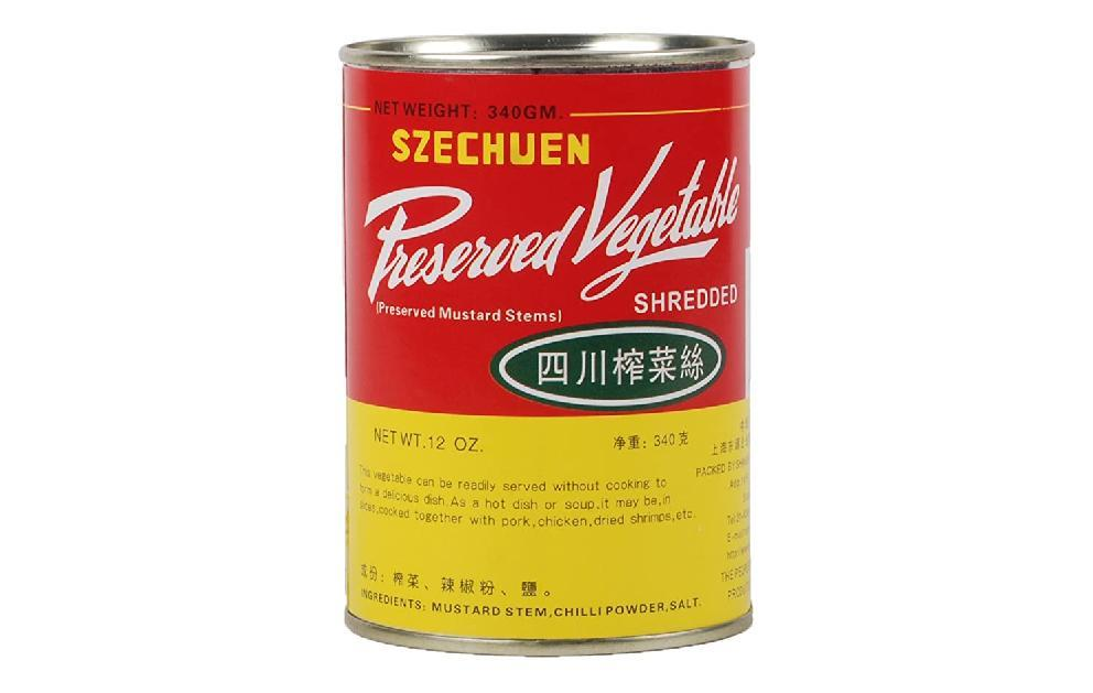 Shredded Zha Cai in a Can