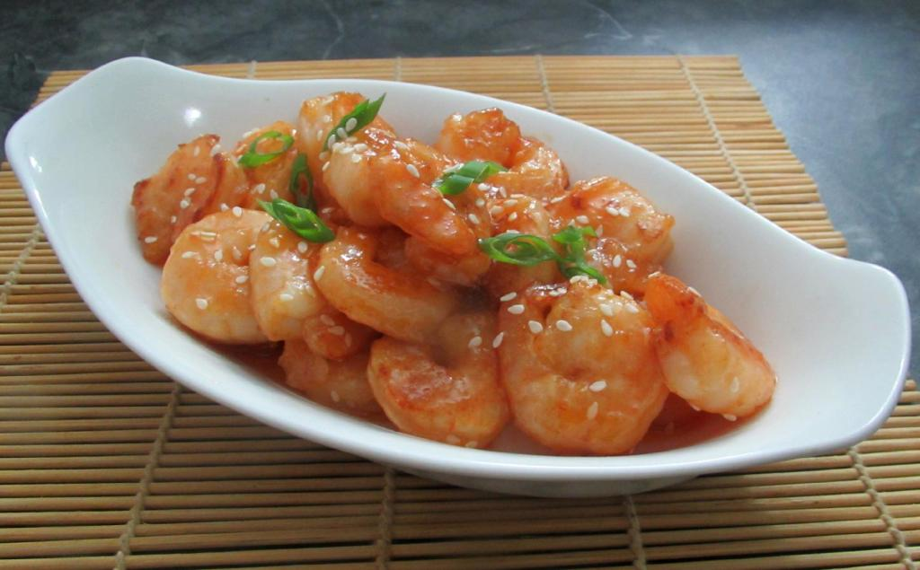 Sweet Sesame Shrimp
