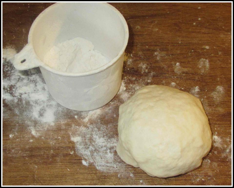 The Dough for Beef Xian Bing