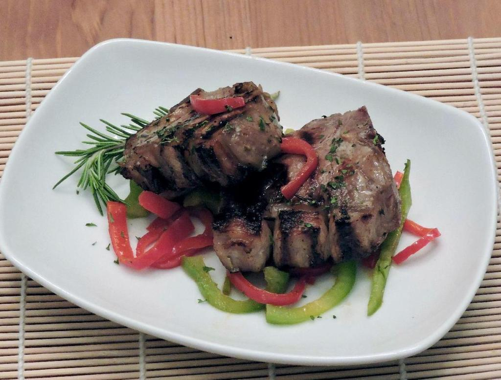 Grilled Lamb Chop Appetizer