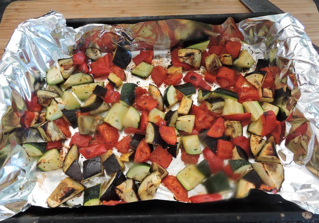 The Roasted Main Vegetable Ingredients