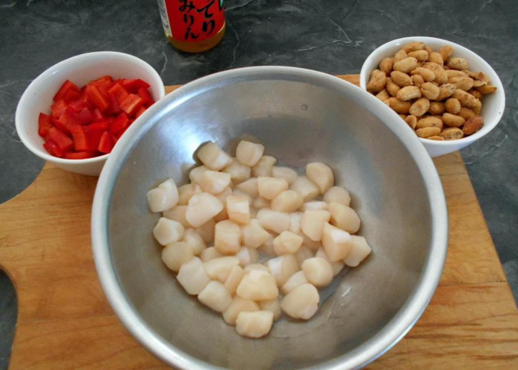 The Main Ingredients for 川味香辣炒扇貝