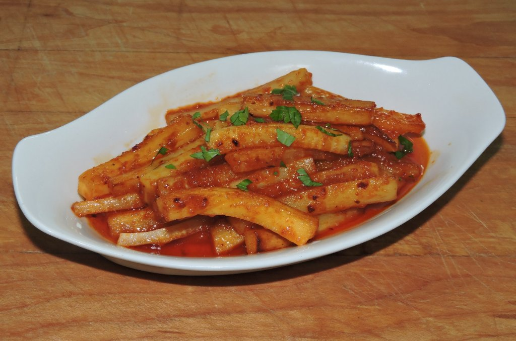 Sweet Pepper Parsnips
