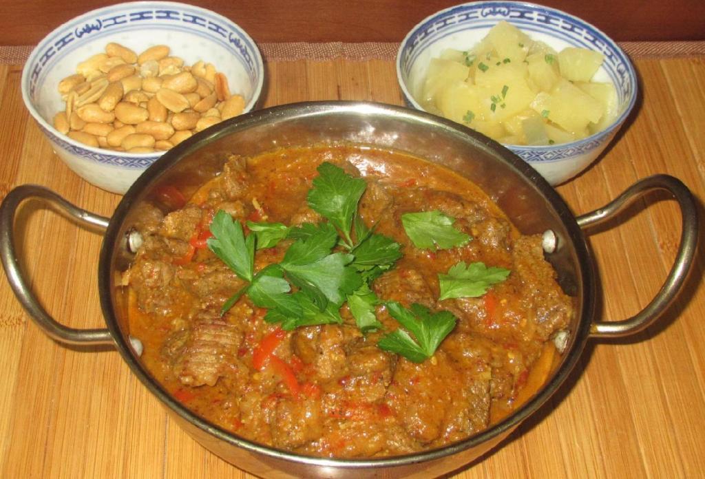 Chili Coriander Beef Curry