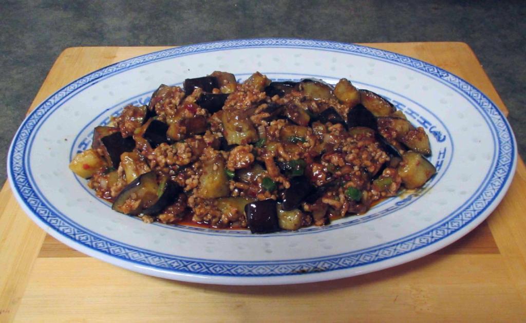 A 'Ma Po' Eggplant dish.