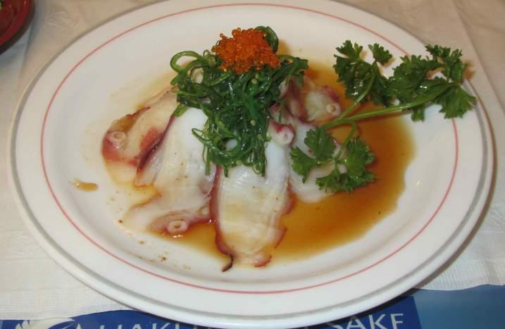 Octopus Vinaigrette at Ken's