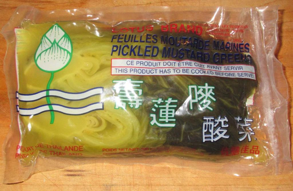 Lotus Brand Pickled Mustard