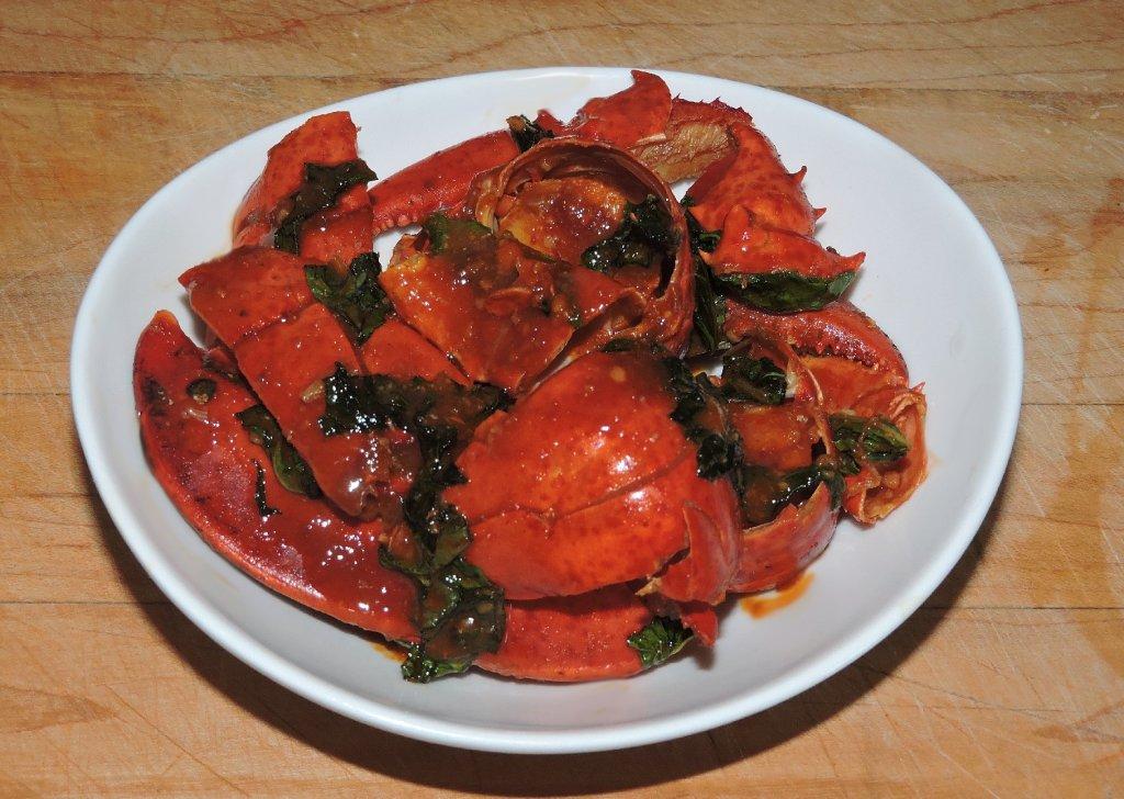 Chilli Basil Lobster Appetizer