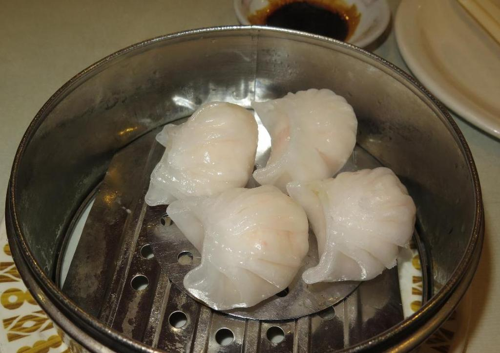 Har Gow (蝦餃) at New Town