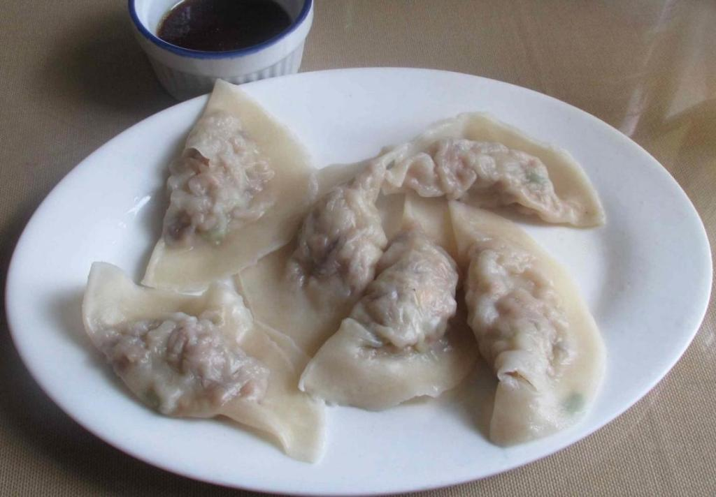Boiled Pork Dumplings at Wei's Noodle House in Ottawa