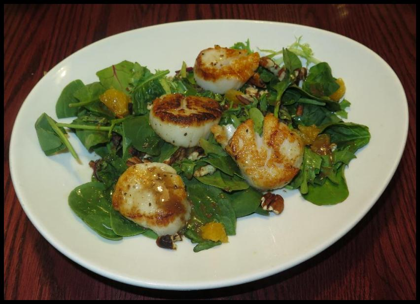 Scallops Grilled at Lapointe