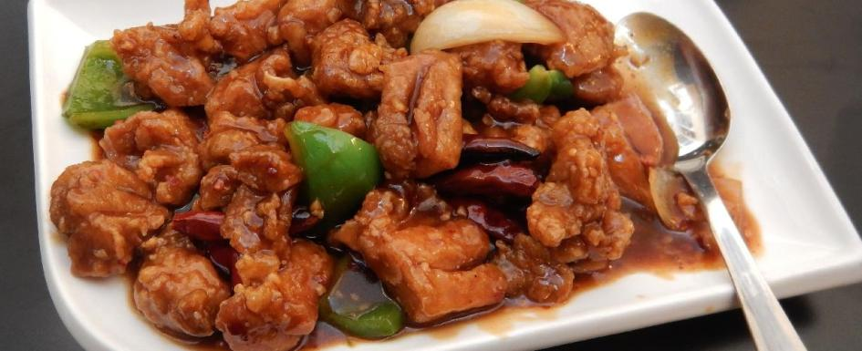 General Tso's Chicken at the Oriental House in Ottawa