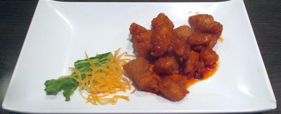 General Tso's Chicken at the Sushi Village in Ottawa