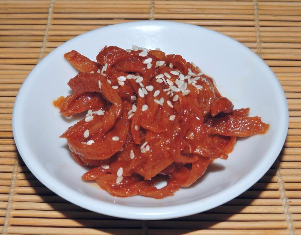 Korean Salted Radish Banchan