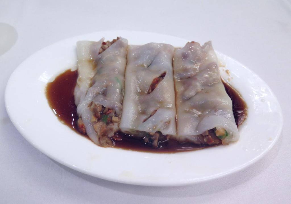 Rice Noodle Roll at May Garden