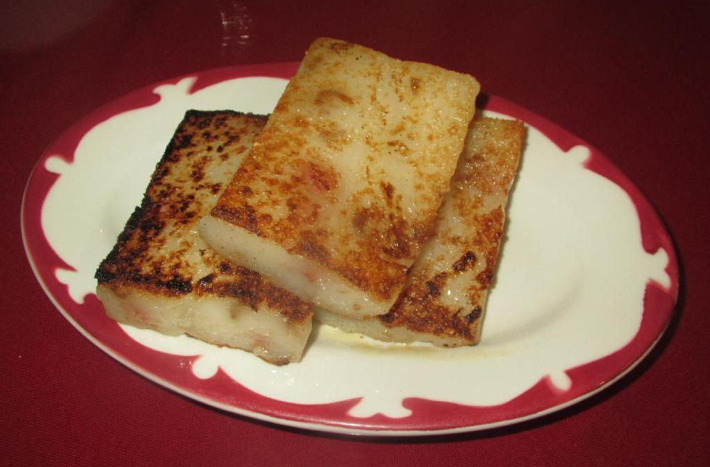 Turnip Cake at Yimin Dimsum
