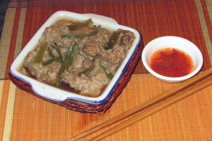 Pepper Steamed Beef Rib – 胡椒蒸牛排骨