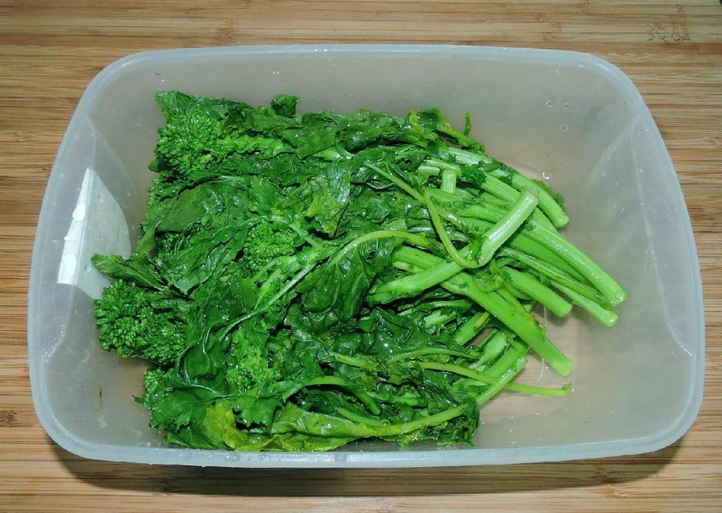 Blanched Rapini