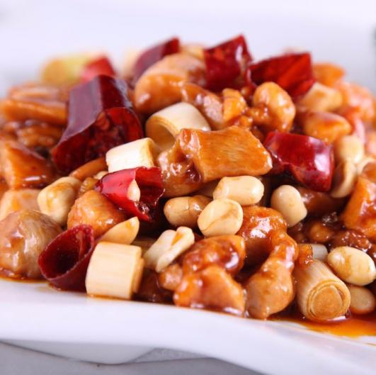 Current Menu picture for Kung Pao Chicken at Keung Kee