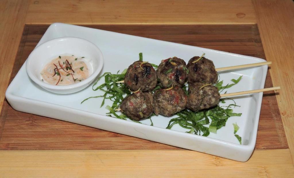 Spicy Camel Meatballs