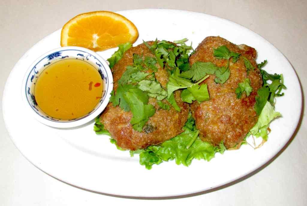 Crab Cakes at Royal Thai