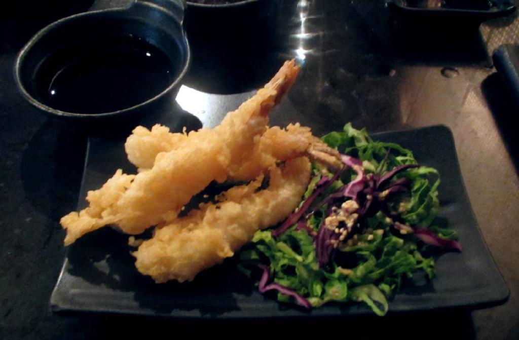 Tempura Shrimp at Hakata Ramen