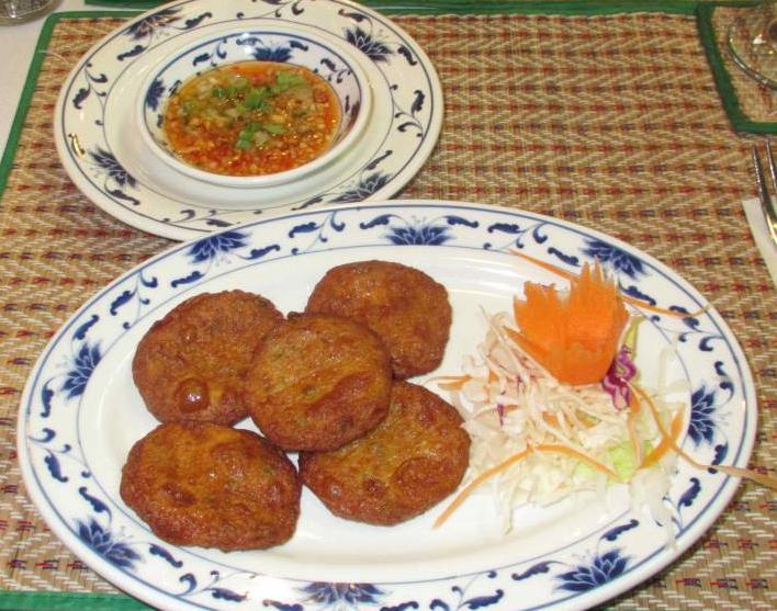Fish Cakes at Bangkok Thai