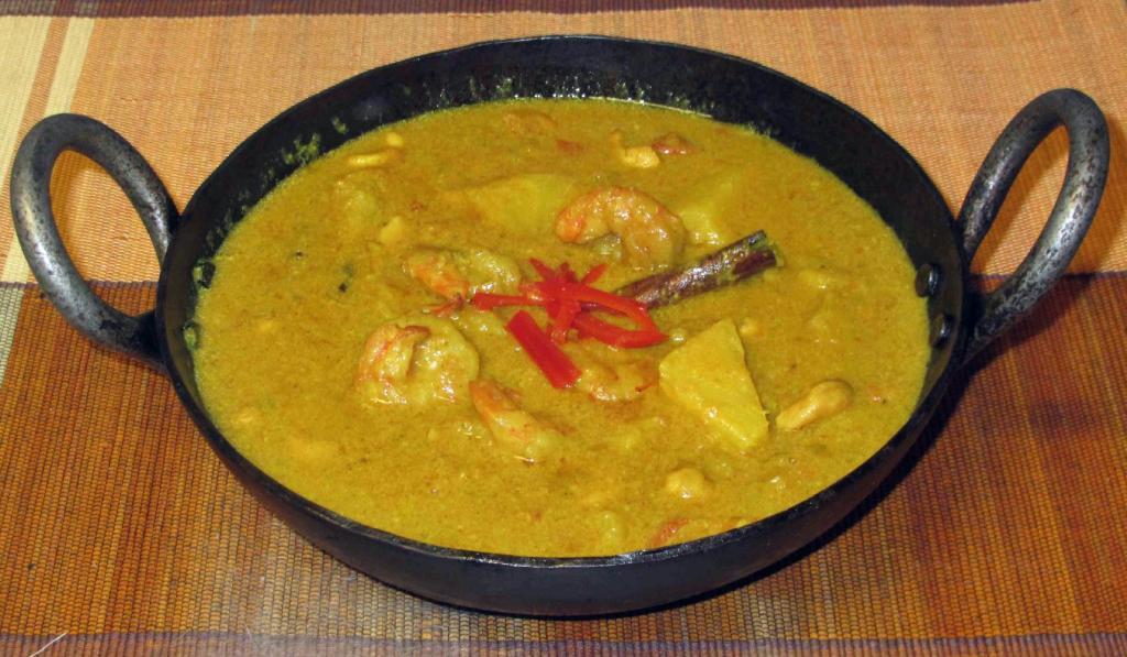 Pineapple Shrimp Qorma Recipe