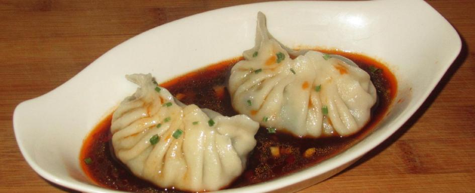 Pork and Daikon Dumplings (蘿蔔豬肉水餃)