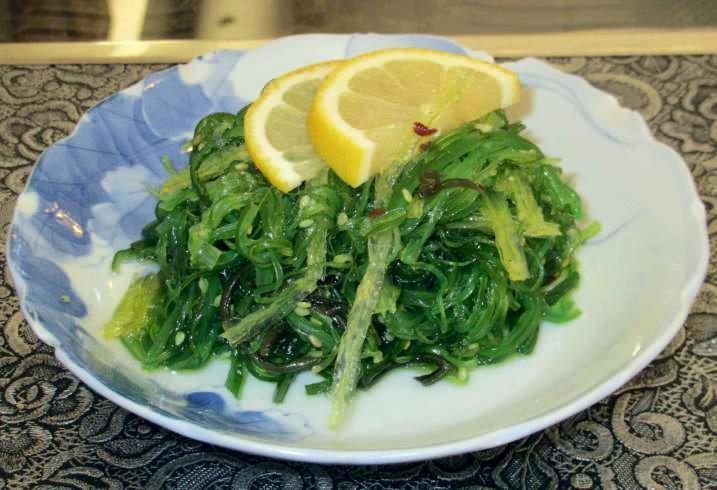 Seaweed Salad at the Koreana Restaurant in Ottawa