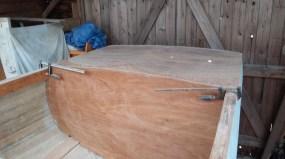 aft deck and bulkhead