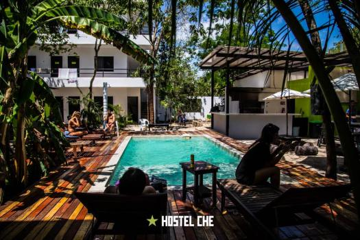 Hostel Che Tulum fligths to cancun