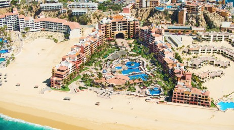 View of Solmar Resort and the beach