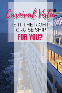 Is Carnival Vista the right cruise ship for you? #carnivalvista #carnival #cruises #experiencesnotstuff https://www.pinterest.com/sybiltravels/