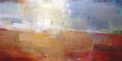 Shimmers 48 X 96 Acrylic on Canvas