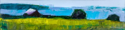 "Peter Colbert Charlevoix 12"" x 48"" Acrylic on Canvas SOLD"