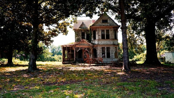 Old house in jackson