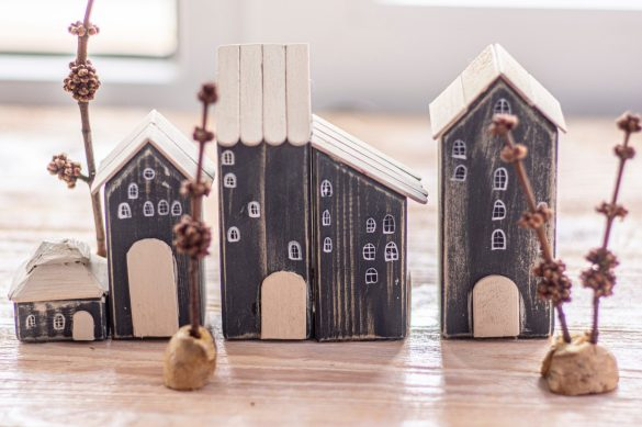 Collection of tiny houses